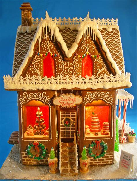 Goodies Bakery Gingerbread House - 2012 - CakeCentral