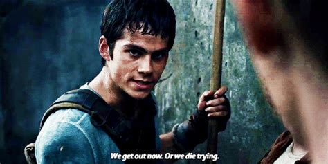 And When He Is Such a Badass Leader | GIFs of Dylan O