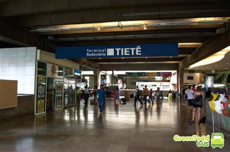 How to get between the Tiete Bus Terminal and the