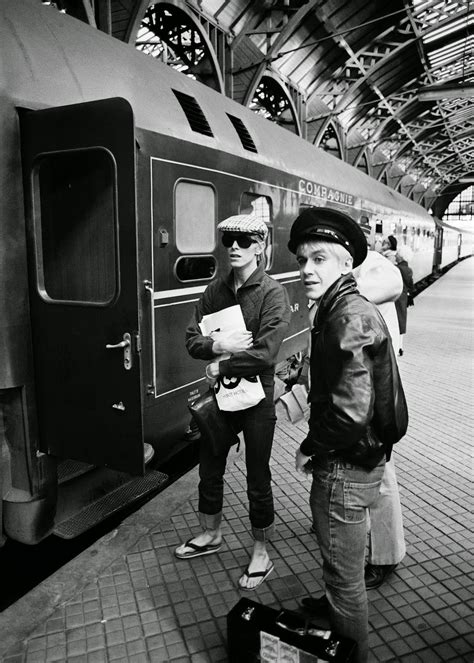 Rare Old Photos Of David Bowie And Iggy Pop's Friendship