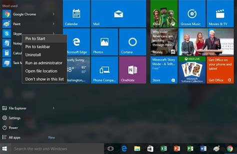 Fix: Can't pin apps to Start in Windows 10