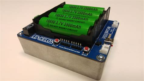 Batlab: A Battery Testing System for Lithium Ion 18650