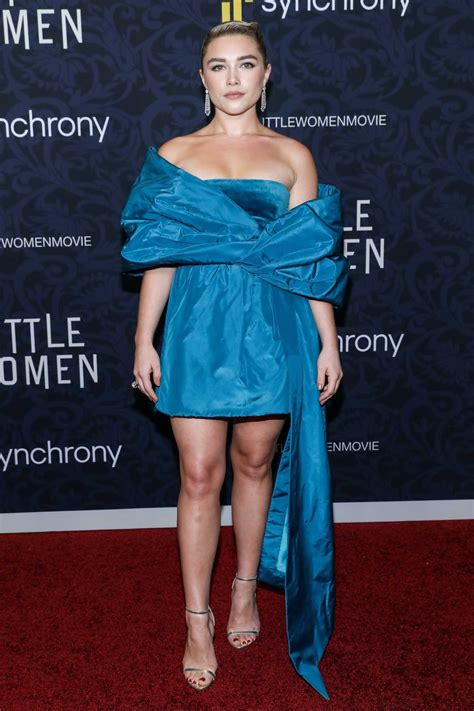 Florence Pugh Attends the Little Women World Premiere at