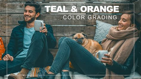 1-Click Teal and Yellow Color Grading Effect in Photoshop