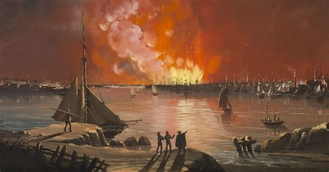 The Great New York Fire of 1835 and the Marketing of