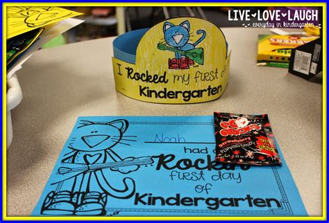 First Day of School with Pete the Cat   Freebielicious