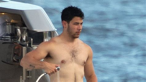 Nick Jonas Shirtless on a Yacht Is the Internet's New