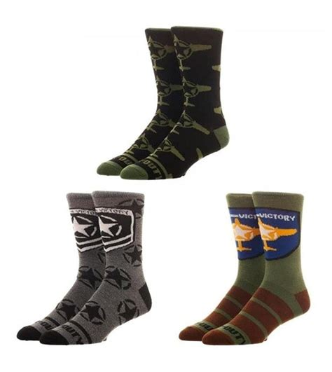 Call Of Duty: WWII - Crew Socks   Men's   at Mighty Ape NZ