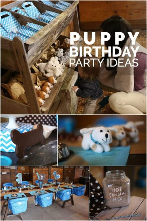 Boy's Modern Puppy Birthday Party | Spaceships and Laser Beams