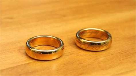The One Ring Replica From Weta Workshop (Gold Plated