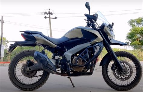 This Modified Bajaj Dominar 400 Is All Prepared to Take on